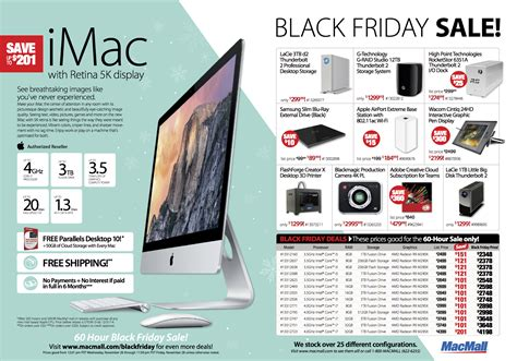 black friday deals macbook pro macmall s black friday sale features savings of up to 86