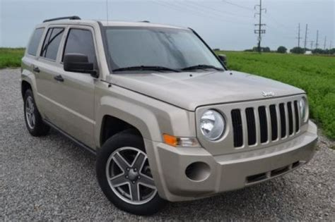 09 Jeep Patriot Sell Used 09 Jeep Patriot Sport Fwd 2 4 Auto Gas Saver 08