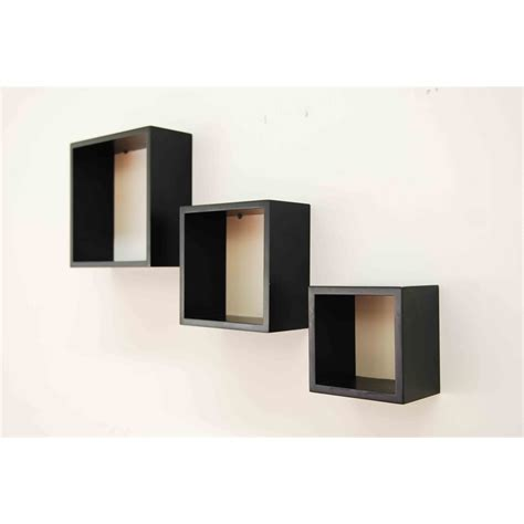 Wall Mounted Cube Shelf by Handy Storage Wall Mount Cubed Storage Unit