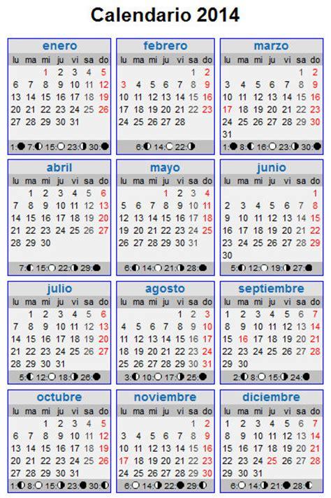 Calendario 2014 Mexico Calendario 2014