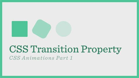 tutorial css transition css transition css animations series part 1 versi on the