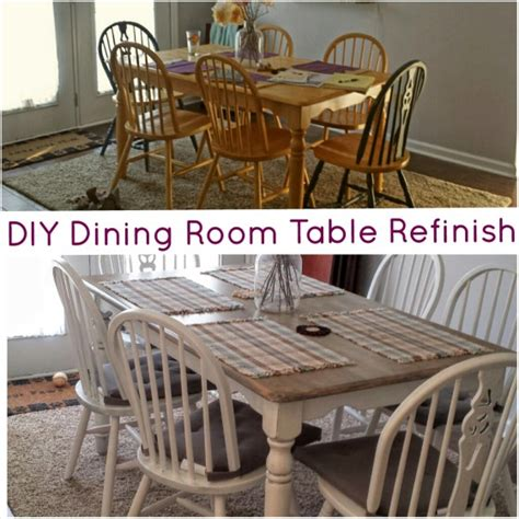 how to refinish dining room table and chairs diy dining room table refinish thepomeroylife