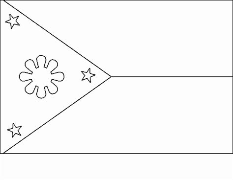 Philippines Flags Coloring Pages Disney Coloring Pages Philippines Flag Coloring Page