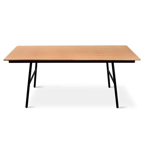 And Table by School Table Dining Table Gus Modern
