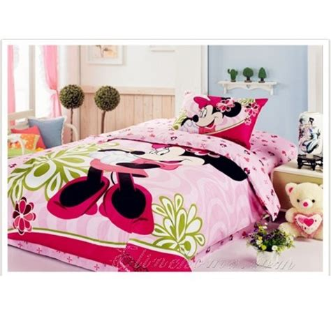 pink minnie mouse bedding for mickey mouse and