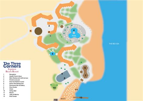 three corners equinox resort map threecorners 187 equinox resort