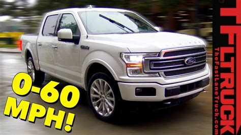2019 ford f 150 limited 2019 ford f 150 limited real world 0 60 mph and exhaust