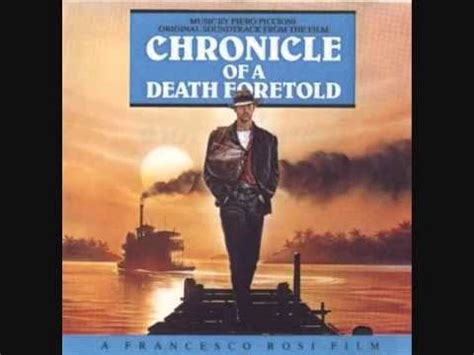 chronicle of a death piero piccioni quot bolero lento quot from chronicle of a death foretold youtube