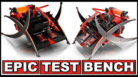 pc test most test bench custom water cooled test bench