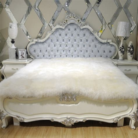 sheepskin comforter aliexpress com buy 100 fur sheepskin mattress bed fur