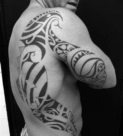 back tattoo man jumping back tattoos for men tribal www pixshark com images