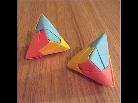 Origami Things To Make - cool origami post it model