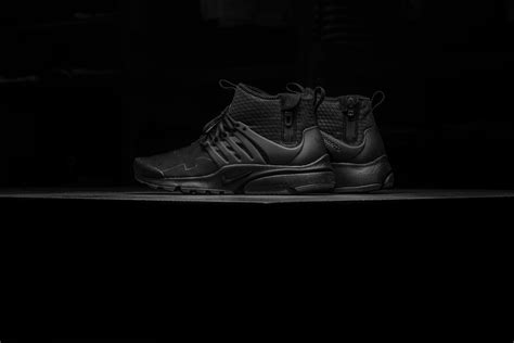 Nike Sweepstakes 2017 - detailed look at the nike air presto mid utility triple black kicksonfire com