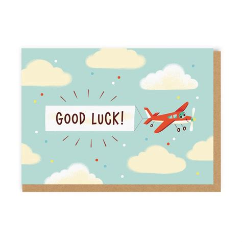 luck card paper airplane template luck planes greeting card ohh deer