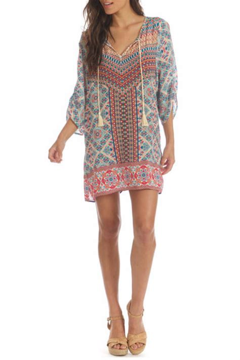 Tunic Vitoria 2 Dress tolani silk tunic from by fashion reflections