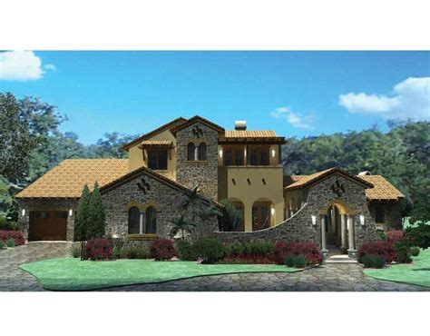 southwestern home plans at eplans includes