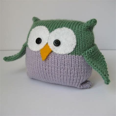 how to knit a owl knitted owl patterns 1000 free patterns