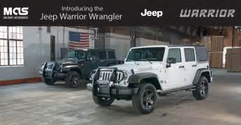 Warrior Jeep Autosource Introduces Two Special Edition Jeep
