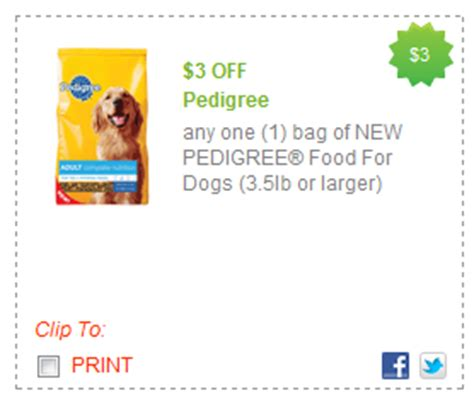 pedigree food coupons target deal pedigree food