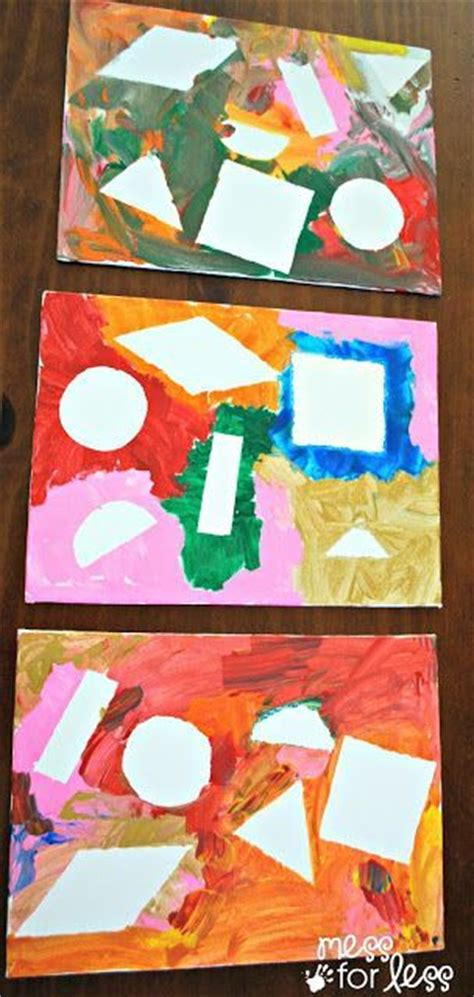 painting learning 413 best images about teaching shapes and colors on