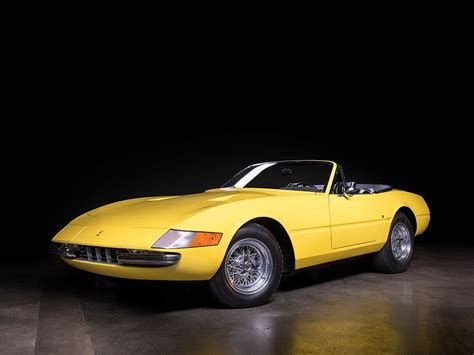 rare ferrari rare ferrari daytona spyder to go under the hammer carscoops