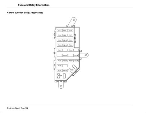 2000 mercury mountaineer fuse box diagram repair guides explorer sport trac 2004 fuse and