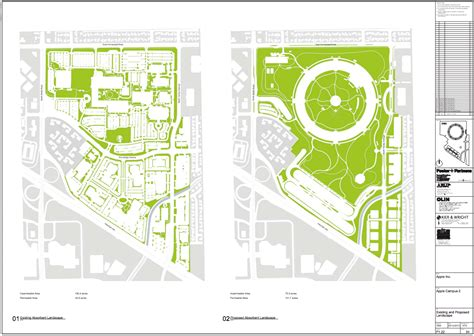 Floor Plan Of A Bank by Updated Plans Released For Foster Partners Apple Campus