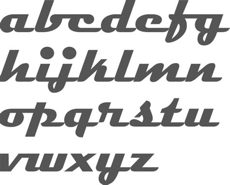 Myfonts Typefaces From The 1950s