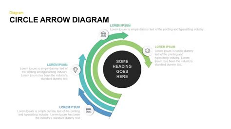 Circle Arrow Diagram Powerpoint And Keynote Template Slidebazaar Powerpoint Circular Arrow
