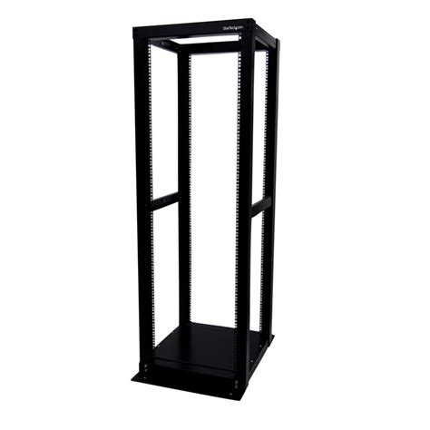 Open Frame Server Rack startech 4postrack36 36u adjustable 4 post