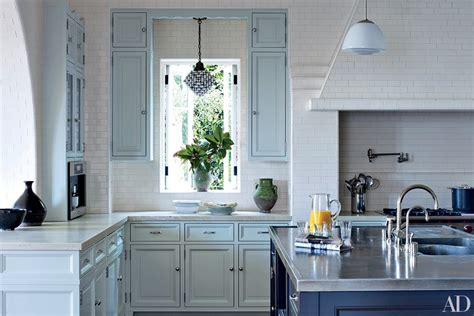 Lights For Over Kitchen Island by Painted Kitchen Cabinets Photos Architectural Digest