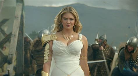 kate upton s game of war fire age commercial ups the does anyone think kate upton has actually played game of