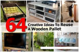 64 creative ideas and ways to recycle and reuse a wooden pallet