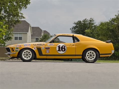 1970 ford mustang boss 302 trans am race car body in white bud 1970 mustang boss 302 trans am race racing muscle classic