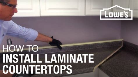 How To Install Kitchen Countertop How To Install Laminate Countertops