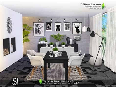 channel dining rooms homedesignq com dual channel diningroom by simcredible at tsr 187 sims 4 updates