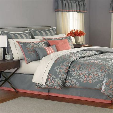 martha stewart grand damask queen 24 piece comforter bed