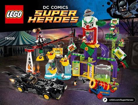 Sale Lego Dc Comics Heroes The Vs The Abilisk 1 dc comics heroes jokerland lego 76035