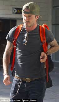 the traveling light david beckham could be