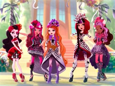 imagenes de kitty chesire primavera desencantada de ever after high en netflix desde