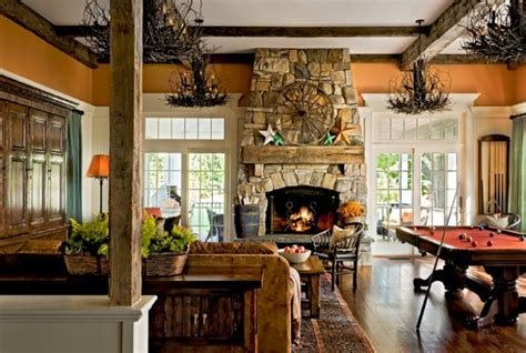 rustic home decorating ideas living room 18 cozy rustic living room design ideas style motivation