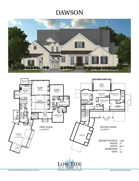 large country house plans large low country house plans