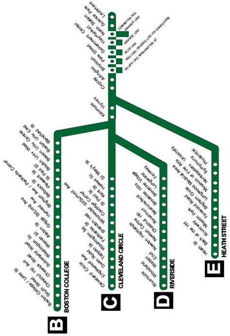 green line map green line map boston ma pictures to pin on pinsdaddy