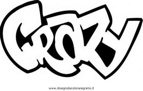 disegno graffiti misti da colorare