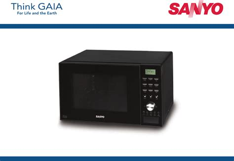 Microwave Genki sanyo microwave oven em c8787b user guide manualsonline