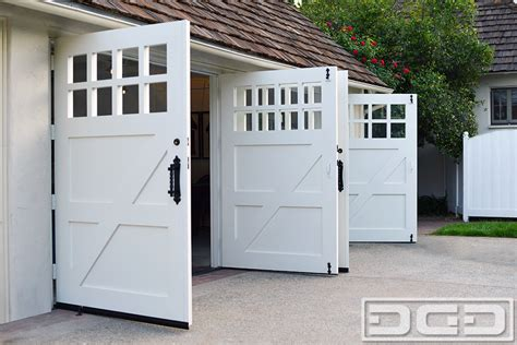swing carriage garage doors swing out garage door plans swing out doors from real