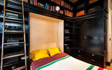 Closet Lighting Ideas maximize small spaces murphy bed design ideas