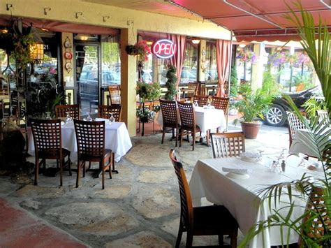 Restaurant Patio Design Outdoor Patio Dining Hospitality Of Cafe Vico Restaurant Fort Lauderdale Florida By