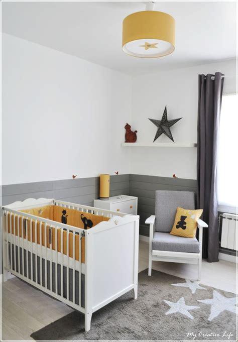 chambre enfant et gris les 25 meilleures id 233 es concernant chambres de b 233 b 233 jaune