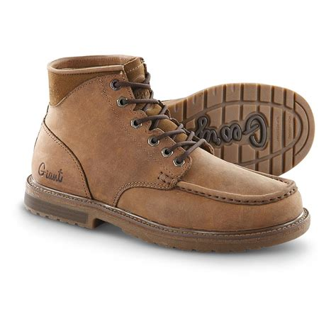 mens moc toe boot s boot 174 hopper moc toe boots brown